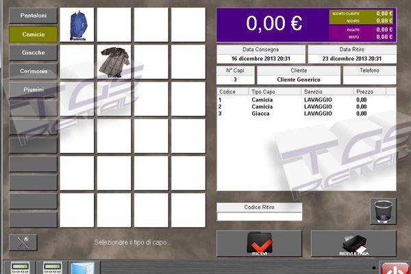 Software Gestionale Lavanderie Tintorie