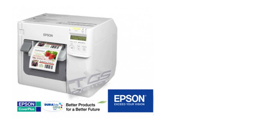 Stampante etichette a colori EPSON