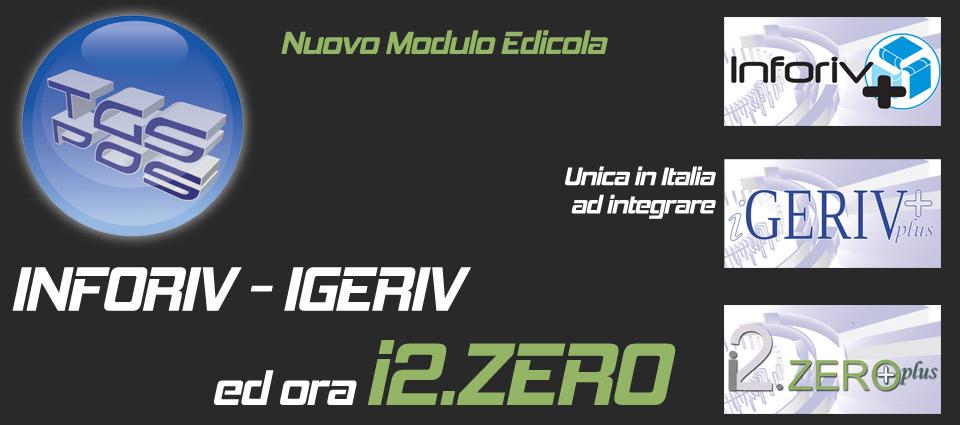 i2.Zero, Inforiv, Igeriv - Gestionale per edicole e rivendite