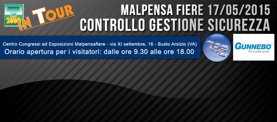 TGS e Gunnebo al T2000 In Tour Malpensa!